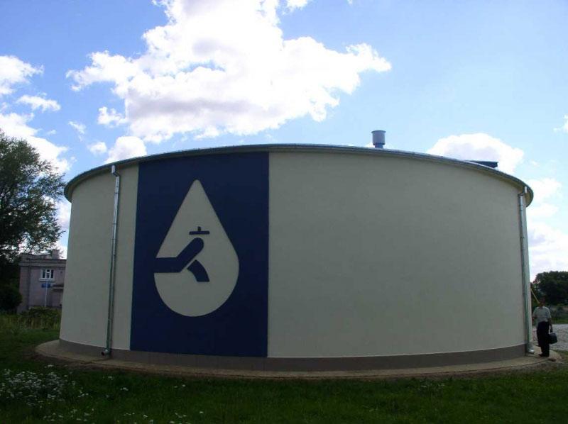 Zbiorniki wody pitnej